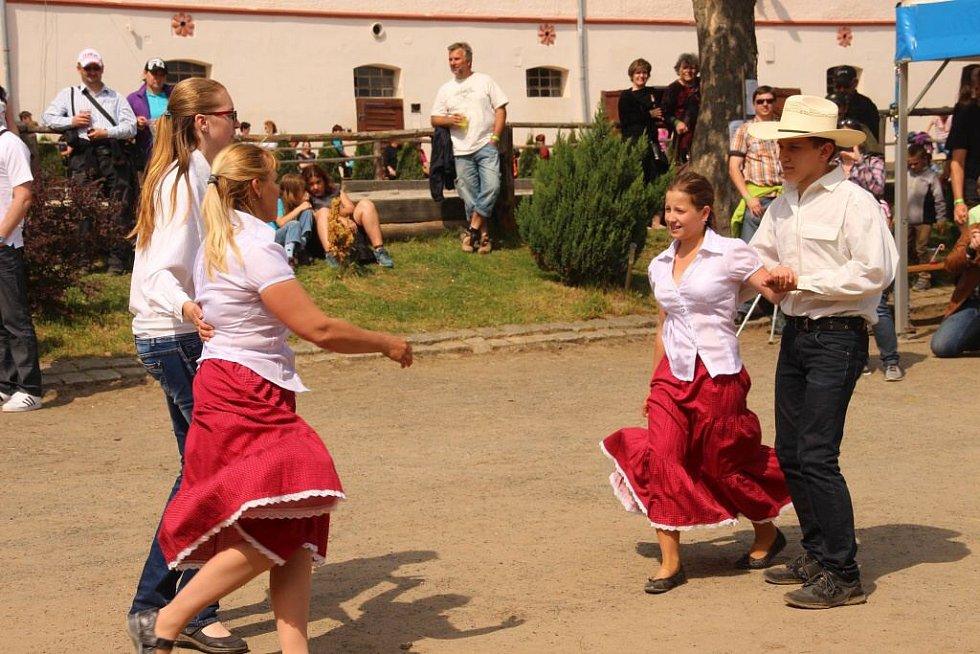Oslavy ve Svržně.