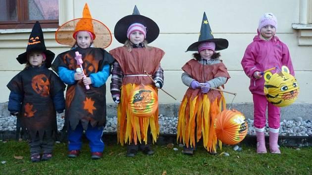 Halloween v Osvračíně.