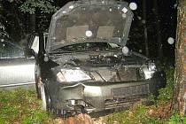 Při dopravní nehodě u Mířkova zahynula devatenáctiletá dívka.