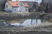 Maxovské rybníčky jsou zbavené bahna.