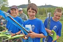 POJEDOU NA KRAJSKÉ KOLO ZLATÉ UDICE. Okres bude reprezentovat družstvo mladých rybářů, jehož základ tvoří trojice z vítězného týmu mladých kdyňských rybářů  – Martin Fojt s Ondřejem a Václavem Vacháchalovými.