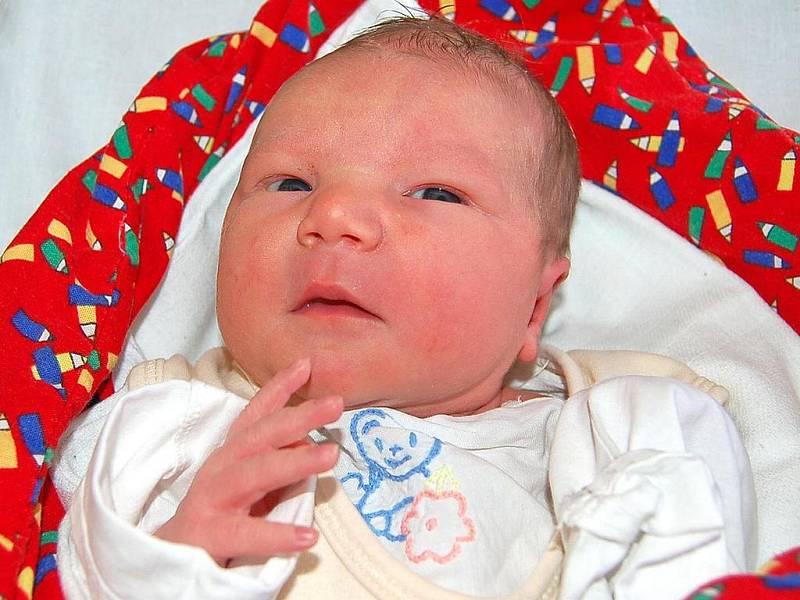 NATÁLKA Pitelová ze Sušice se v Domažlické nemocnici narodila ve čtvrtek 15. ledna v 10.15 hodin. Maminka Lenka a tatínek Richard byli u jejího narození spolu. Natálka vážila 2,72 kg a měřila 49 cm.
