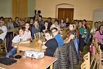 Přednáška o Černobylu v Libkově.