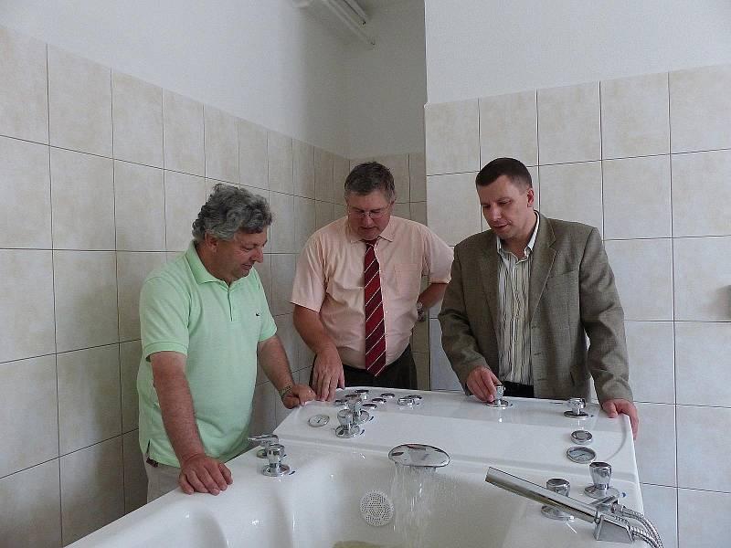 Zdravotnické středisko v Holýšově má novou rehabilitaci.