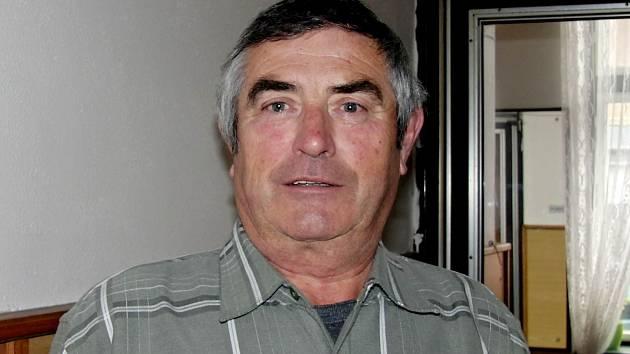 Karel Strnad, předseda OV ČSV Domažlice
