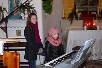 Ze zpívání v dílské kapli sv. Cyrila a Metoděje.
