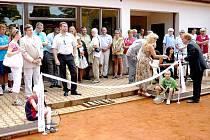 Na domažlické Střelnici byly slavnostně otevřeny nově zrekonstruované tenisové kurty.
