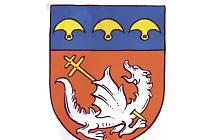 Znak obce vybrali sami občané Kouta na Šumavě.