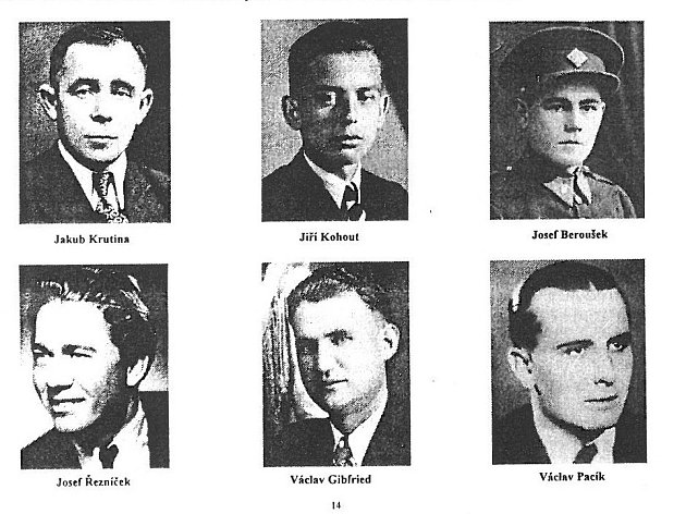 ´Postřekovští chlapci´, kteří zahynuli vposlední dny války.