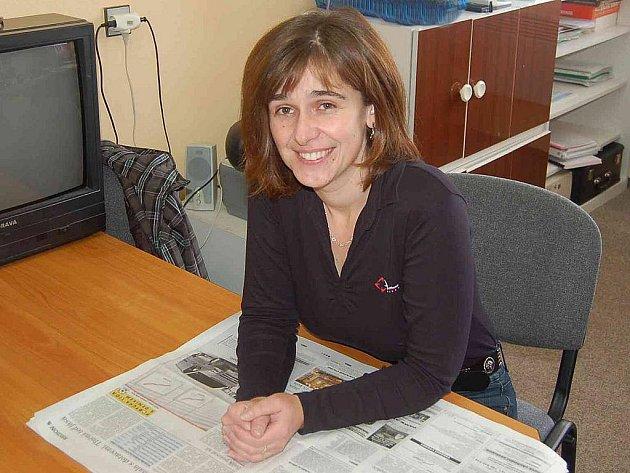 Lenka Pekárová, ředitelka Mateřské školy Poběžovice.