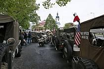 Convoy of Remembrance v Klenčí pod Čerchovem v květnu 2019.