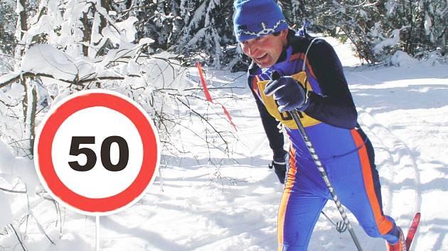 Lyžař a běžec Martin Váchal slaví jubileum.