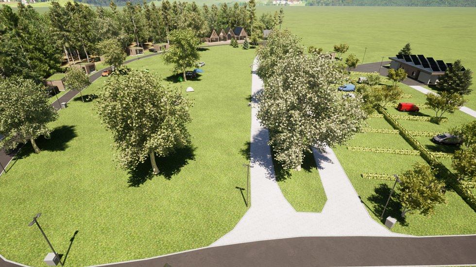 Autokemp v Babylonu čeká kompletní proměna. Stávající chatky a další budovy půjdou k zemi a nahradí je nové. Obec už má k projektu hotovou studii.