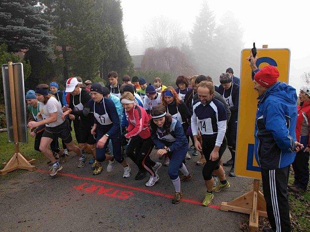 Z Capartické osmy, posledního závodu běžecké sezony na Domažlicku.