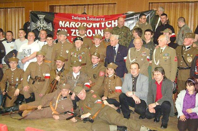 Po 70. letech přijeli do Staňkova a Holýšova Vojáci polské Svatokřížské brigády.