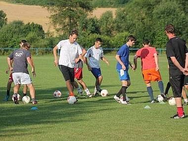 Horažďovice trénují ve Velkých Hydčicích.