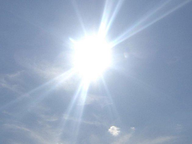 Slunce. Ilustrační foto.