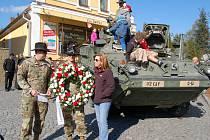Bělá slavila konec II. světové války.