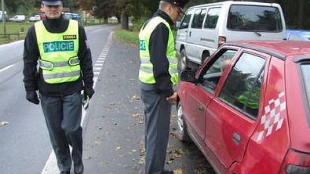 Dopravně bezpečnostní akce - ilustrační foto.