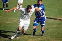 Divizní Jiskra Domažlice se v Krchlebech utkala v přípravném zápase s ligovým dorostem Viktorie Plzeň.