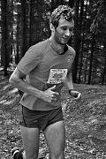 Filip Cenefels na maratonské trati.