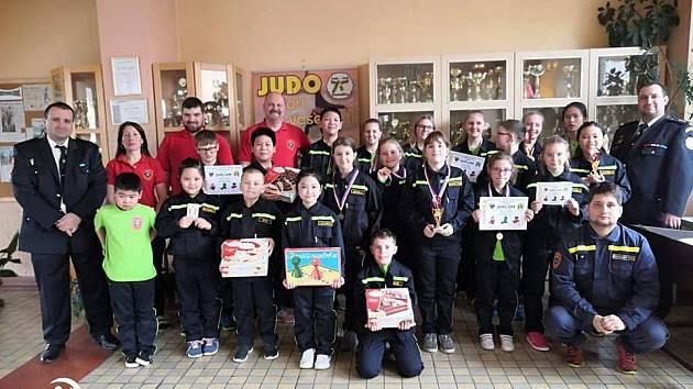 Zimní setkání mladých hasičů a dorostu