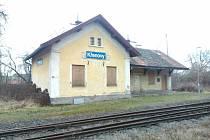 Křenovské nádraží.