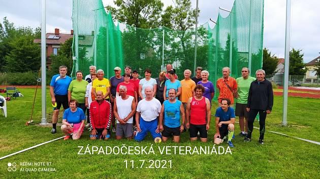 Účastníci veteraniády.