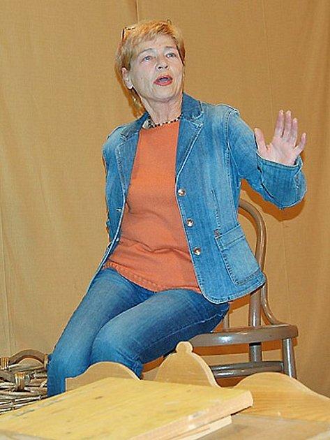 Režisérka Marta Skarlandtová v akci
