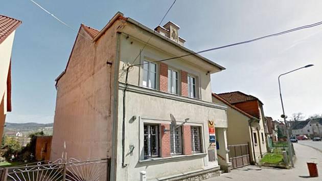Pošta v Koutě na Šumavě.