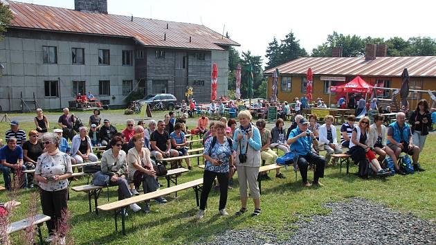 Z 11. ročníku setkání turistů na Čerchově.