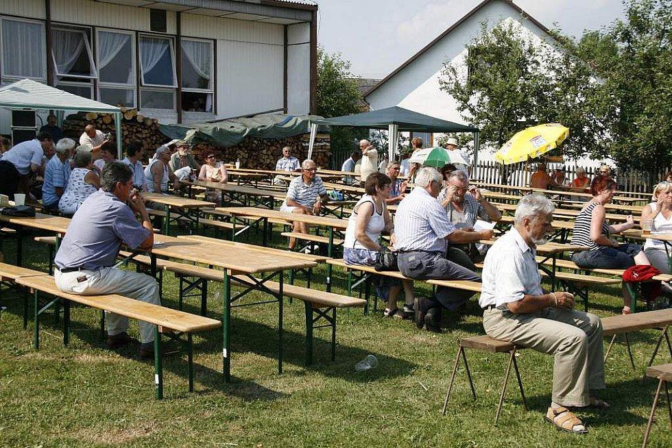 Mezinárodní setkání harmonikářů ve Spáňově 2010.