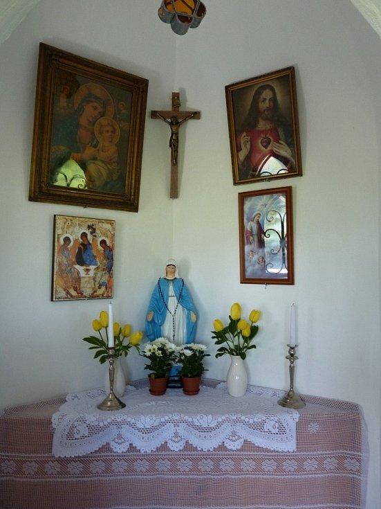 Nedávná Slavnost Nejsvětější Trojice nad Chodskou Lhotou.