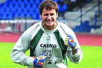 Fotbalový brankář Lukáš Frei.