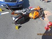 Při nehodě nebyl nikdo zraněn, ovšem škoda je celkem za 60 tisíc.