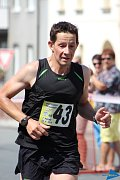 Tomáš Veber na Panevropském půlmaratonu.
