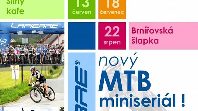Miniseriál závodů horských kol Lapierre Cup 2015.