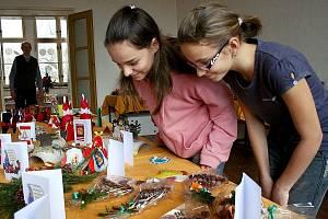 Vánoční výstava v trhanovském zámku