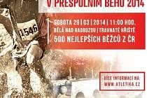 Pozvánka na Mistrovství ČR v přespolním běhu v Bělé nad Radbuzou.
