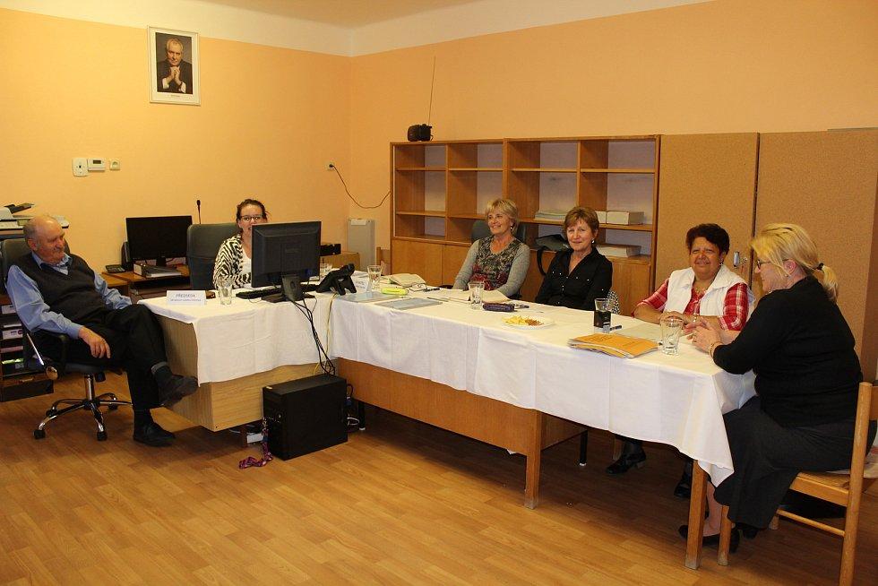 Volební komise Spáňov.