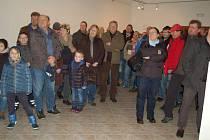 Výstava Vášeň jménem rally v domažlickém Muzeu Chodska.