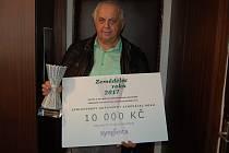 JAROSLAV HÁNA převzal cenu za první místo v soutěži Zemědělec roku 2017.