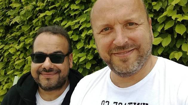 M. Sulej a R. Chroust (vpravo).