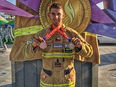 Pavel Kouřík ze Světových hasičských her v Jižní Korei.