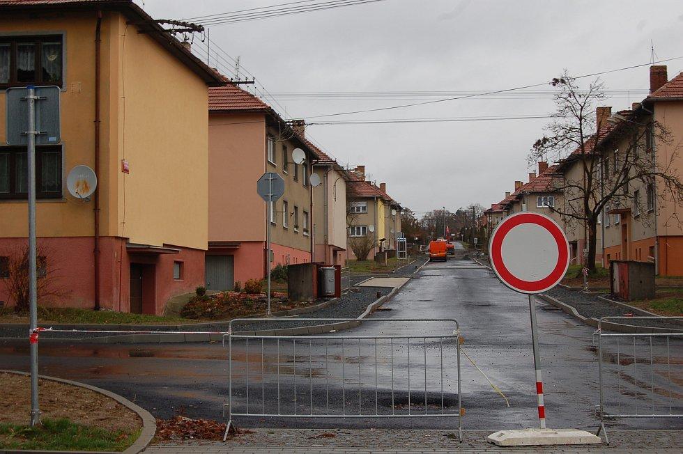 Ulice  II. Pětiletky bude horšovskotýnským občanům plně zpřístupněna již před Vánoci.