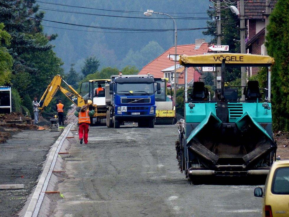 Rekonstrukce silničního průtahu Klenčím.