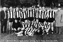 Mužstvo Jiskry Domažlice z roku 1968. Zleva stojí Michálek, Bečvář, Raděj, Pelnář, Sventek, Pauer, Hojda, Sádovský a Volfík. Dole jsou Plas, Kinzler, Baar, Sokol a vpředu Durdík.
