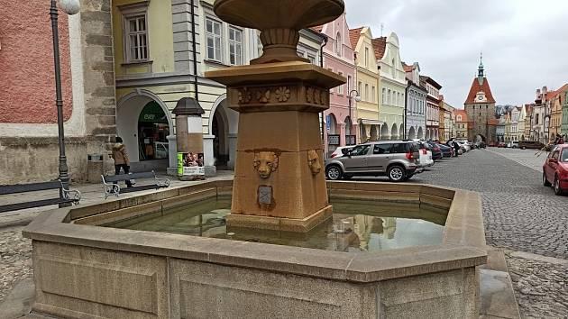 V centru Domažlic.