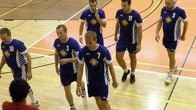 Volejbalisté Jiskry Domažlice.
