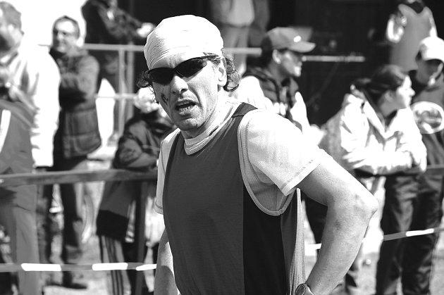 Domažlický triatlonista Norbert Švarc.
